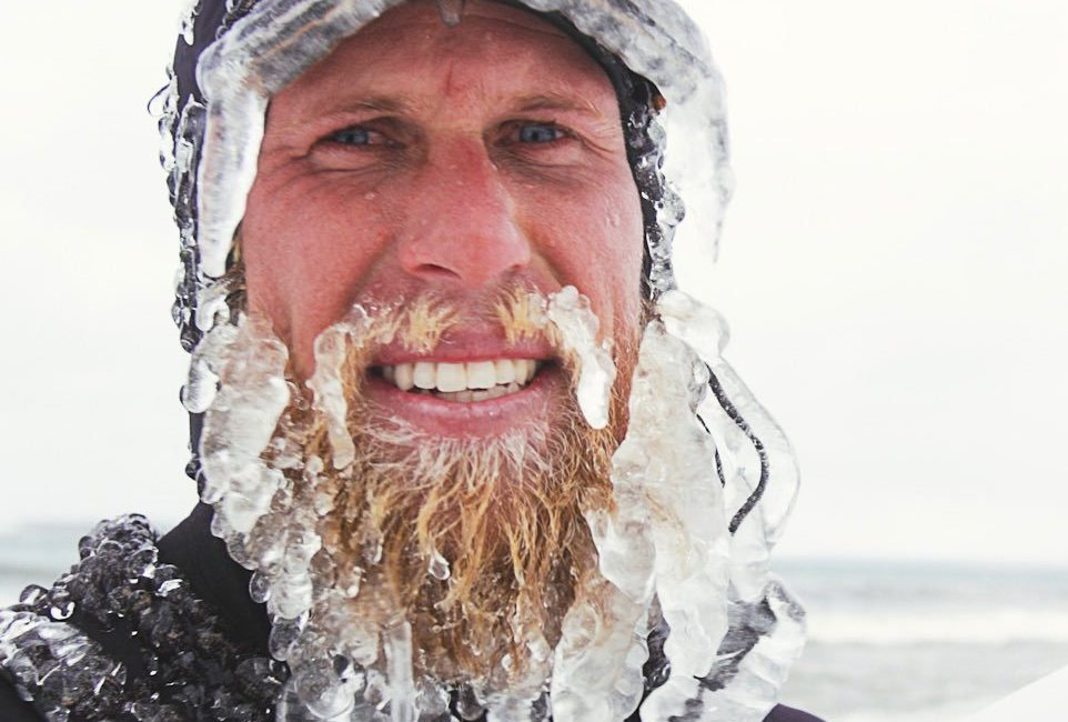 winter beards and ice beards are awesome.