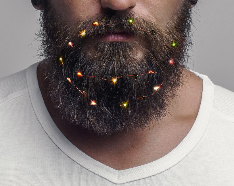 holiday beard ideas, holiday facial hair