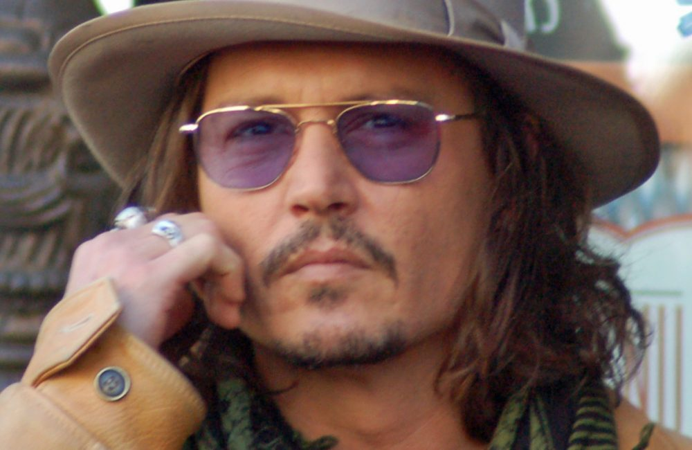 Patchy Beard example Johnny Depp